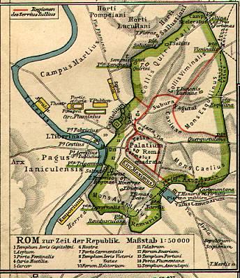 karten von rom